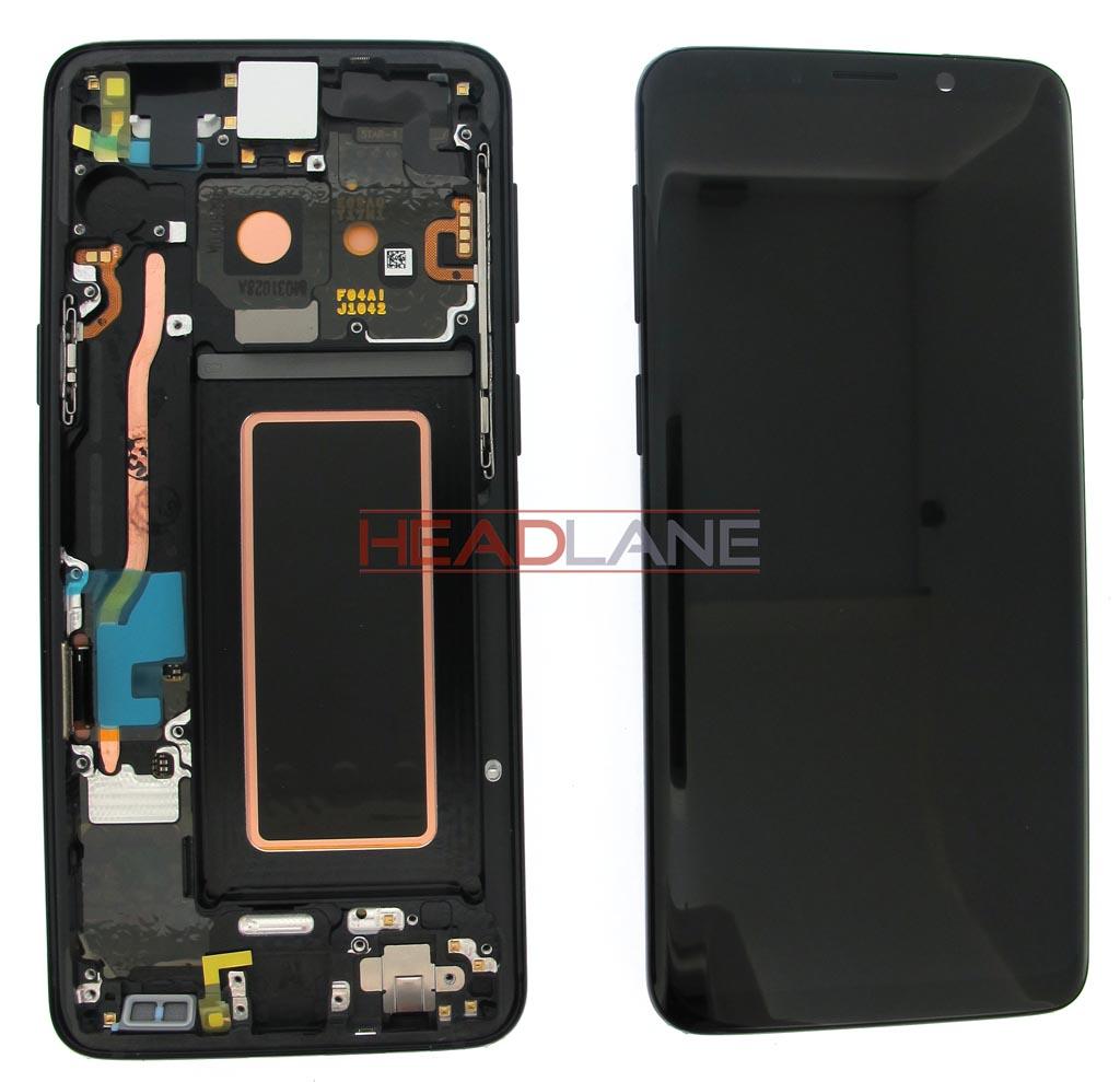 Samsung SM-G960F Galaxy S9 LCD Display / Screen + Touch - Black