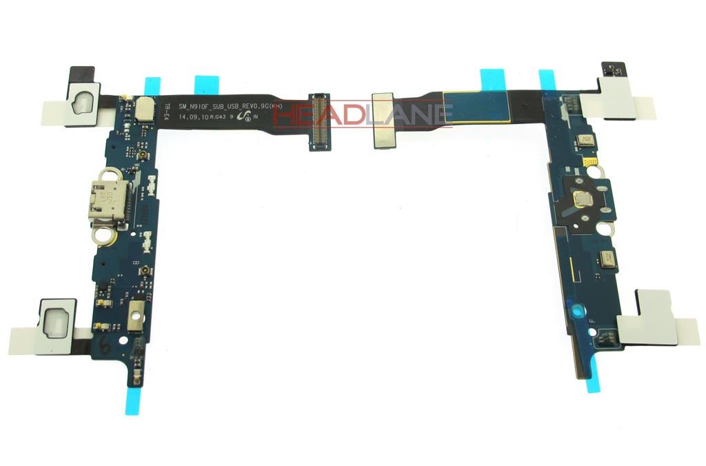 Samsung SM-N910F Galaxy Note 4 Micro USB / Charging Flex