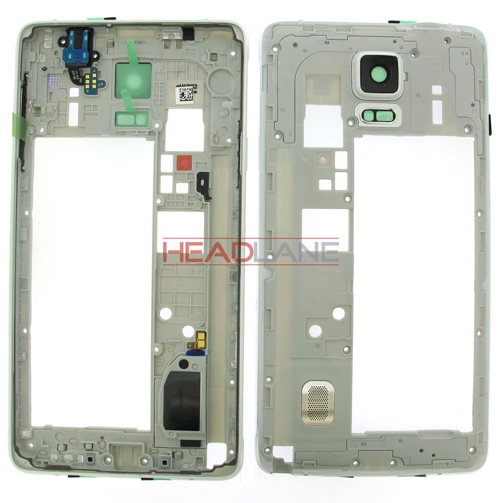 Samsung SM-N910 Galaxy Note 4 Middle Cover / Chassis - White