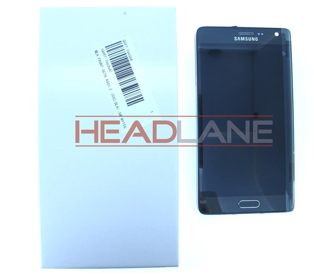 Samsung SM-N915 Galaxy Note Edge LCD Display / Screen + Touch - Black
