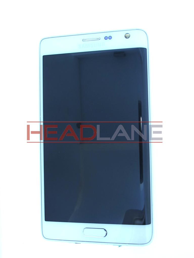 Samsung SM-N915 Galaxy Note Edge LCD Display / Screen + Touch - White