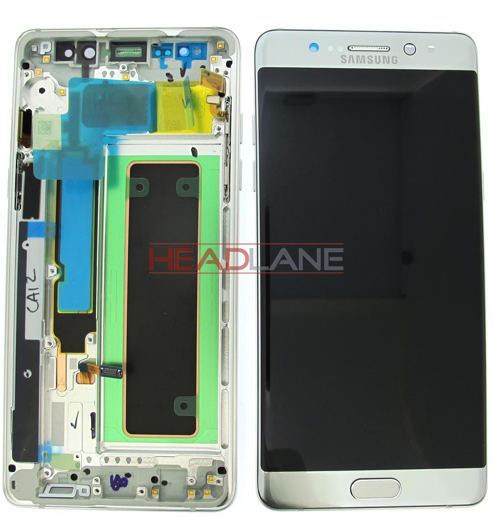 Samsung SM-N930F Galaxy Note 7 LCD Display / Screen + Touch - Silver