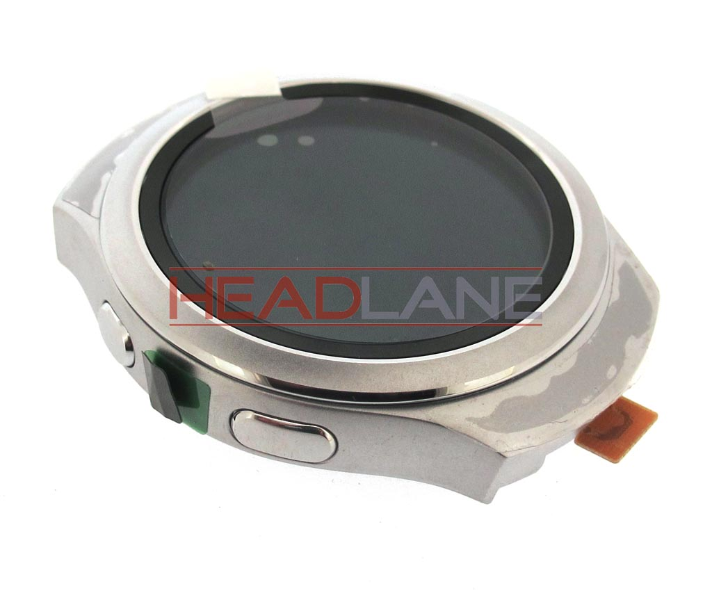 Samsung SM-R7200 Galaxy Gear S2 LCD Display / Screen + Touch - White