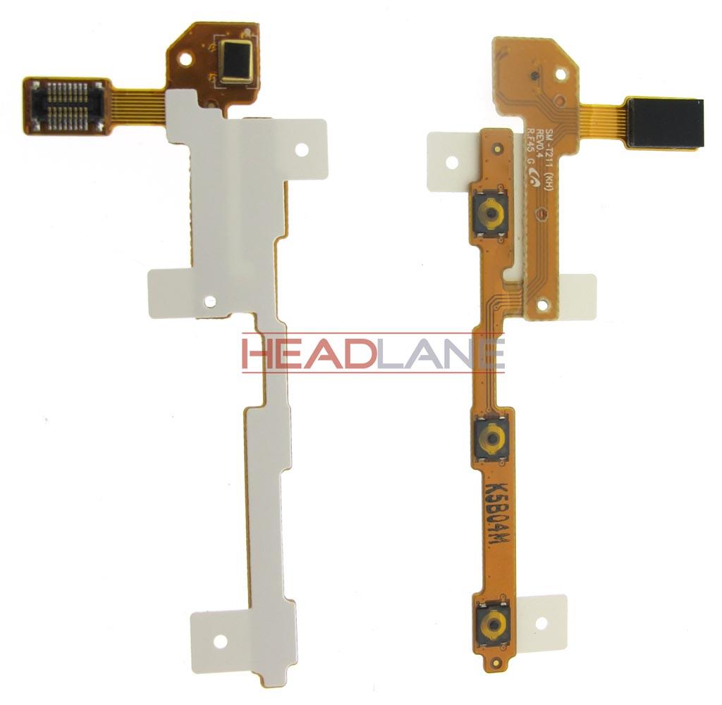 Samsung SM-T210 T2105 T211 Side Key Flex