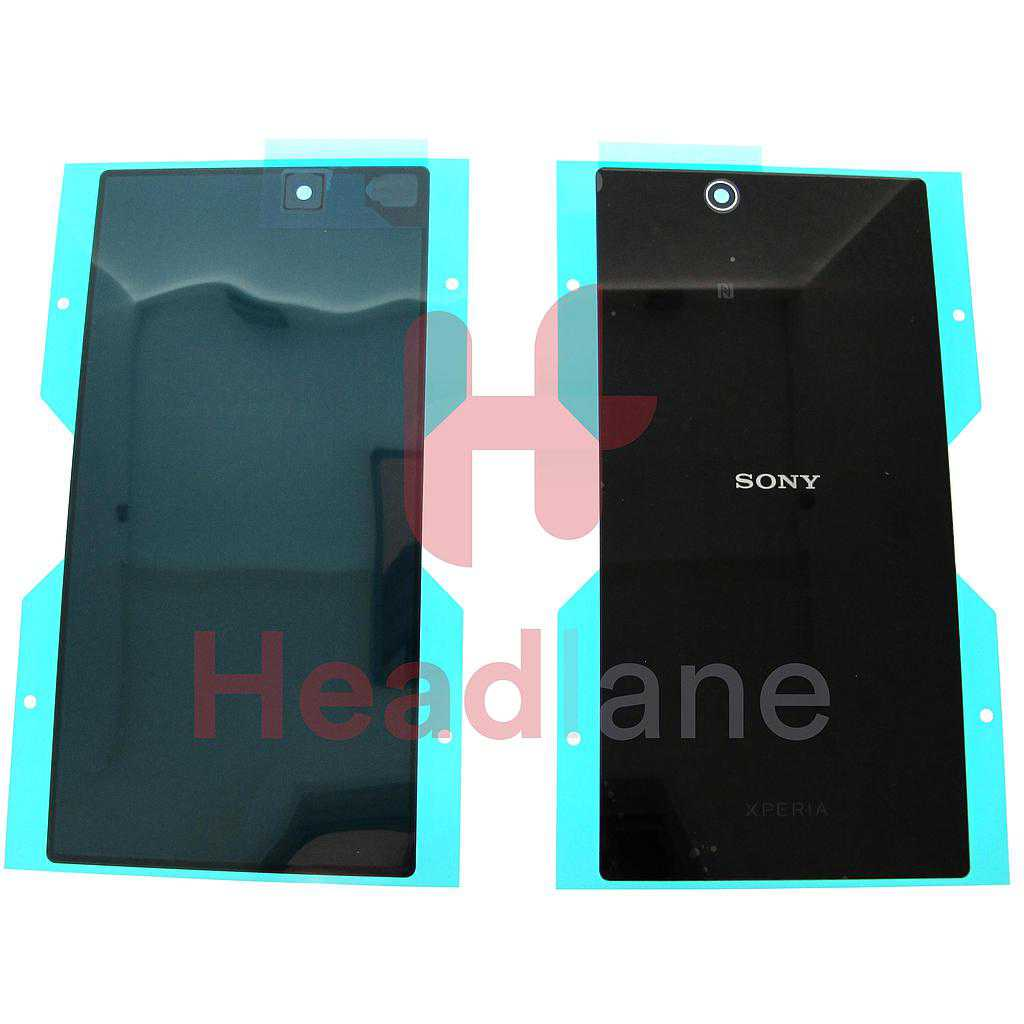 Sony XL39H Xperia Z Ultra Back / Battery Cover - Black
