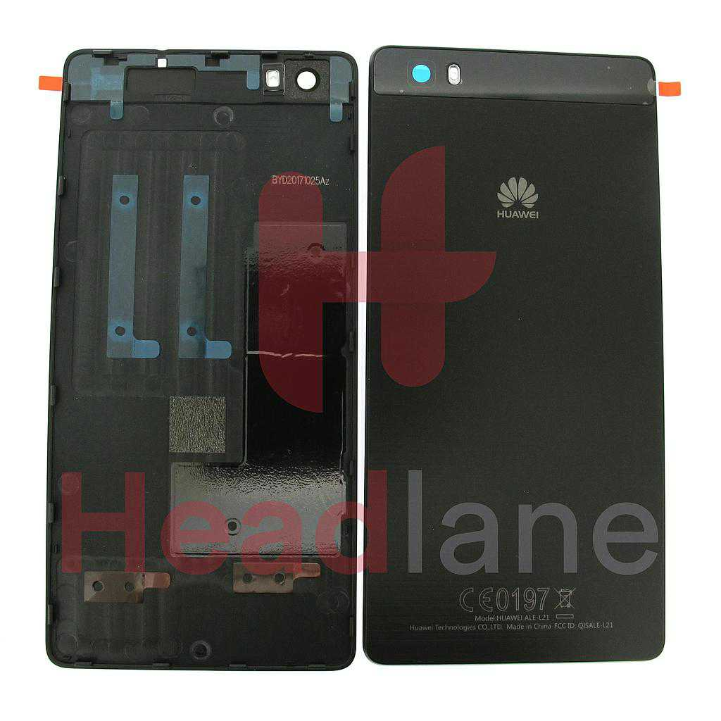 Huawei P8 Lite Battery Cover - Black
