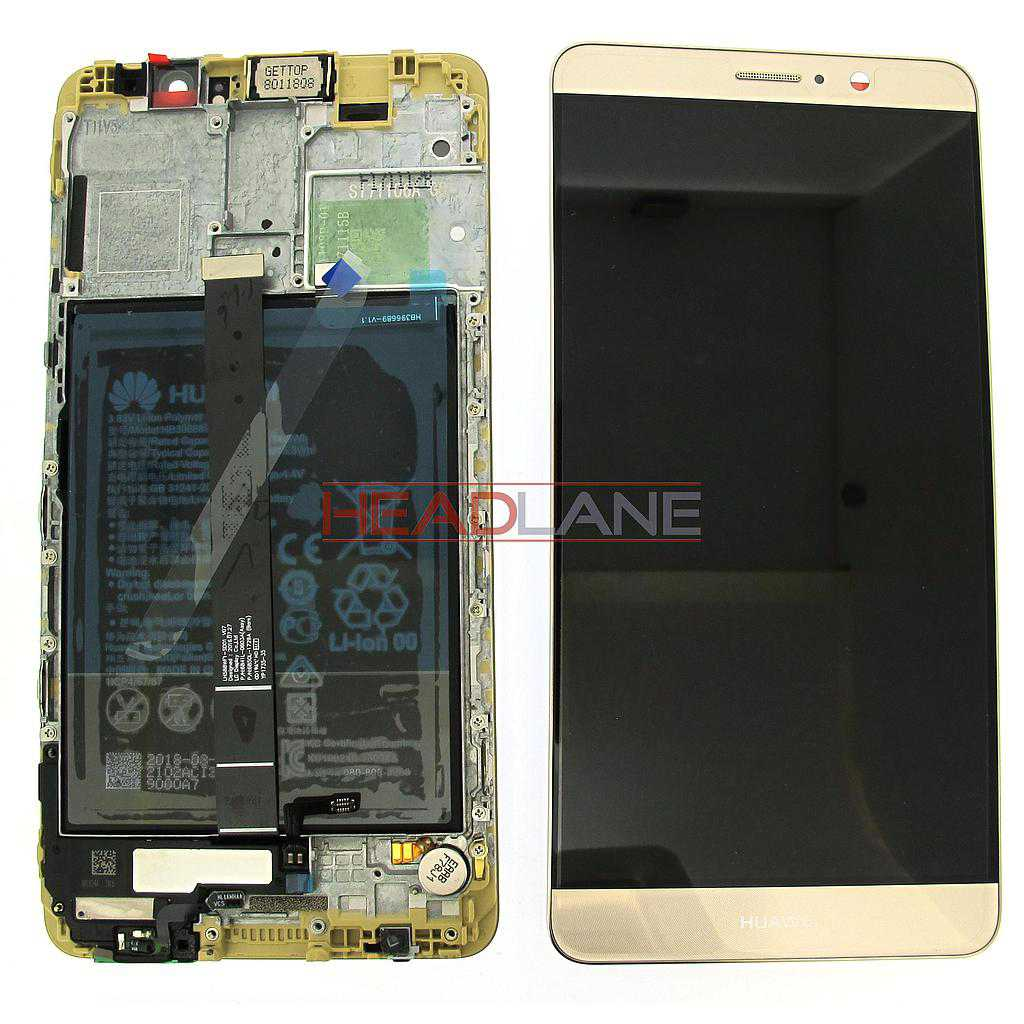 Huawei Mate 9 LCD Display / Screen + Touch + Battery Assembly - Gold