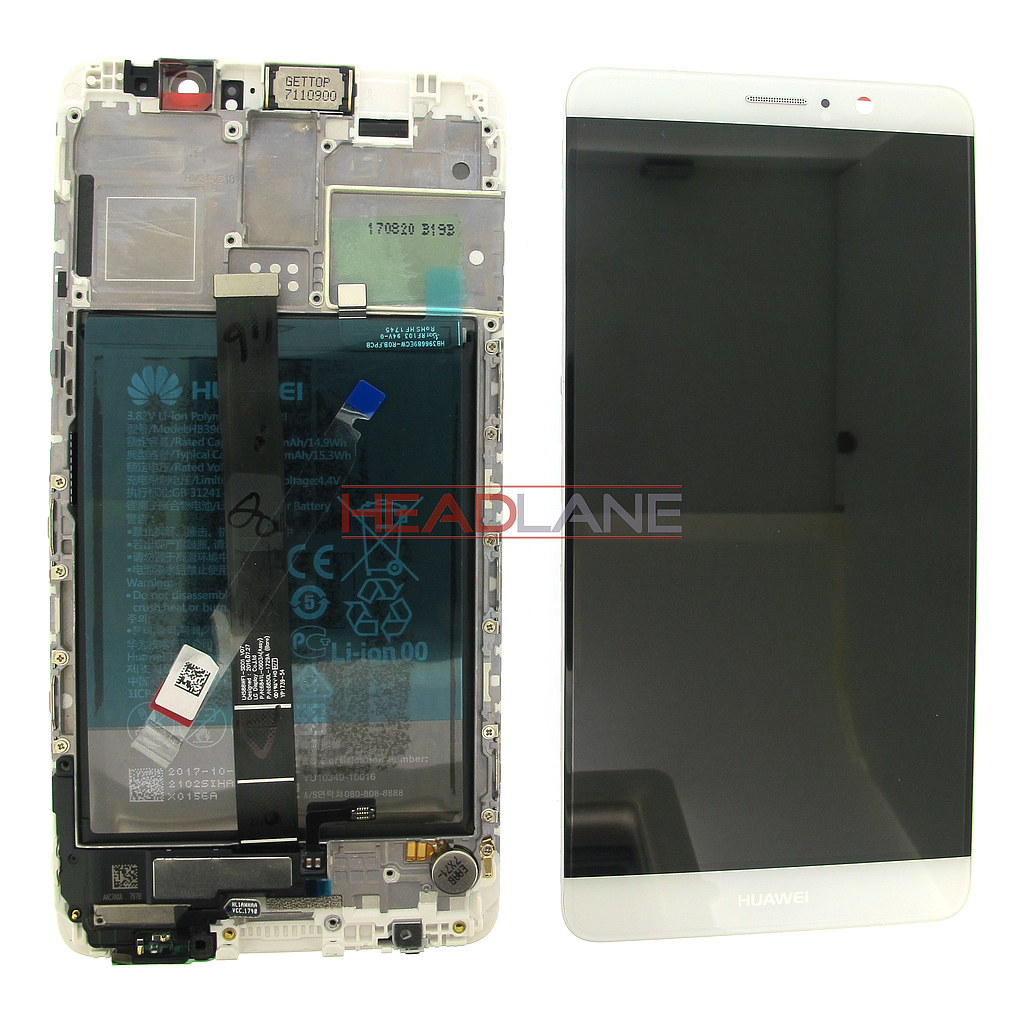 Huawei Mate 9 LCD Display / Screen + Touch + Battery Assembly - Silver