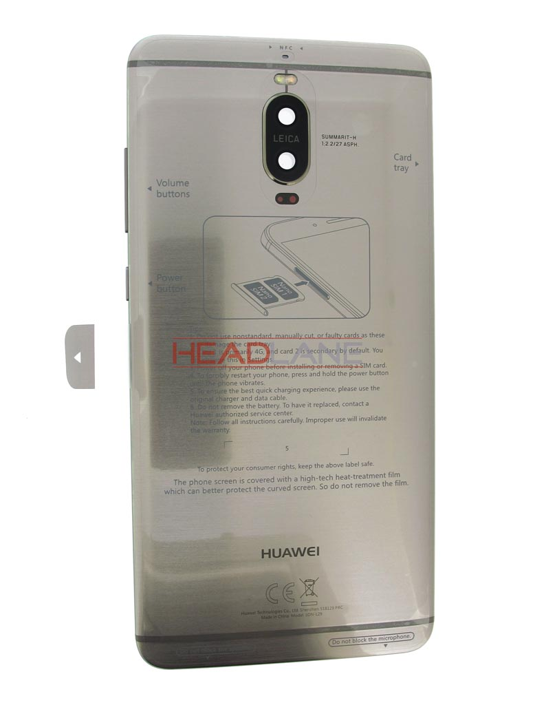 Huawei Mate 9 Pro Battery Cover - Grey