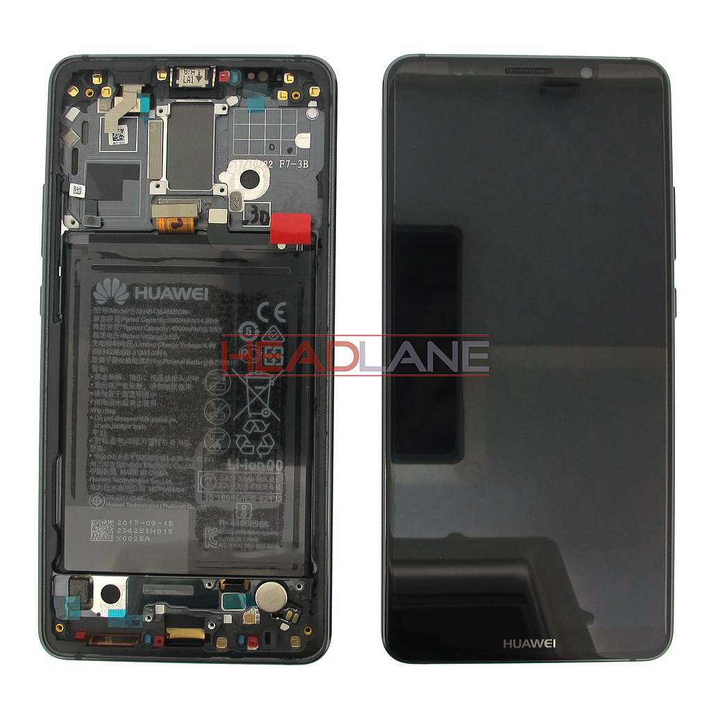 Huawei Mate 10 Pro LCD Display / Screen + Touch + Battery Assembly - Grey