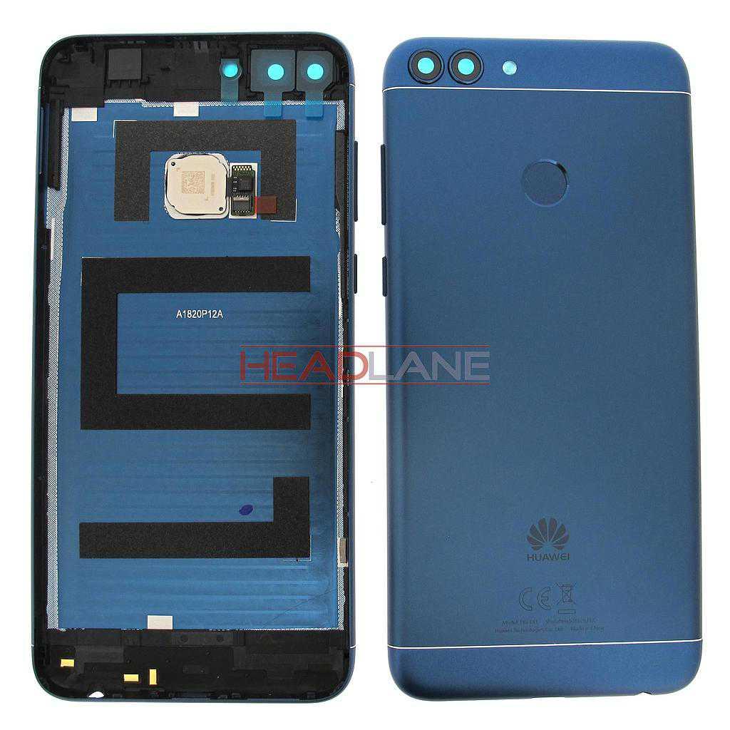 Huawei P Smart Battery Cover + Fingerprint Sensor - Blue