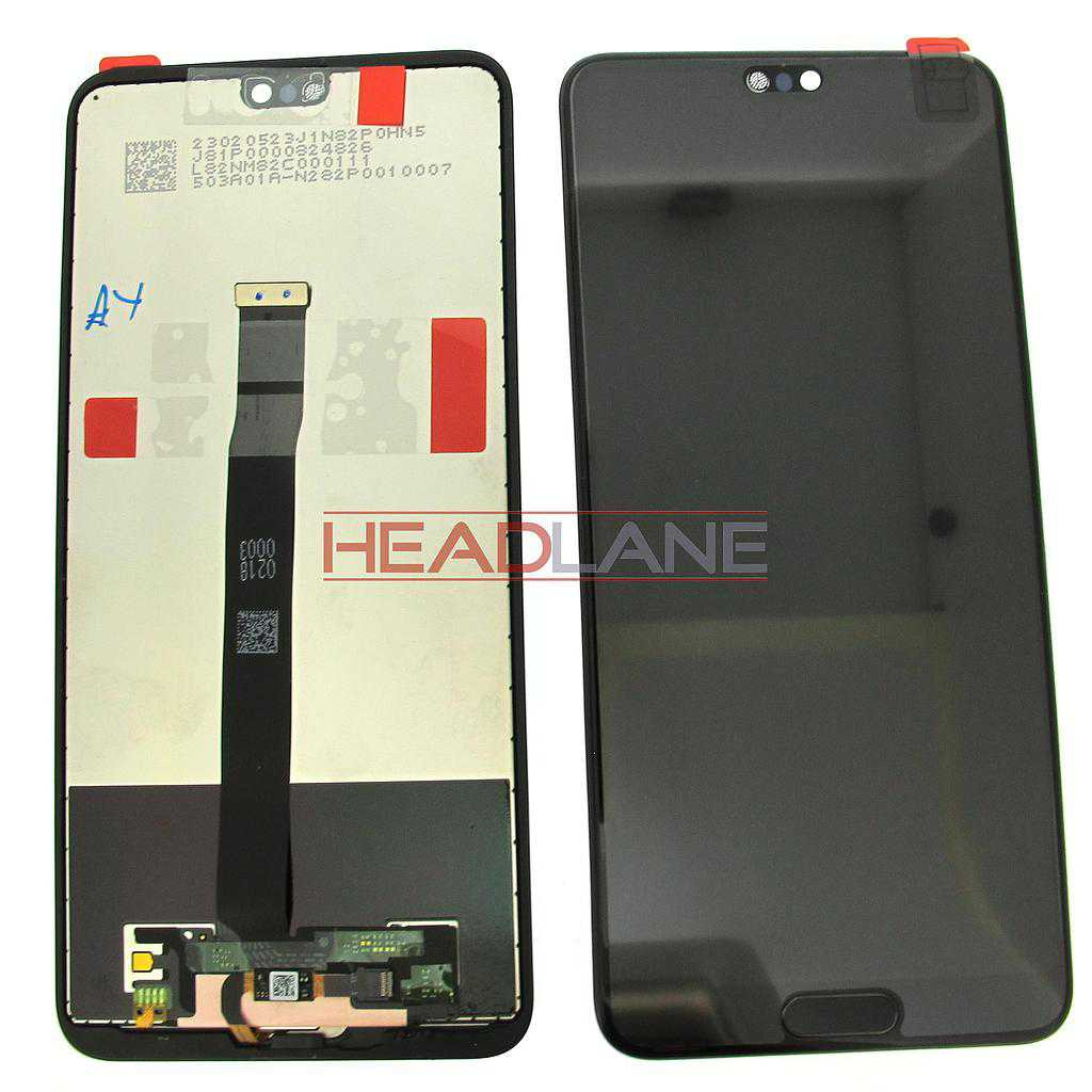 Huawei P20 LCD Display / Screen + Touch - Black