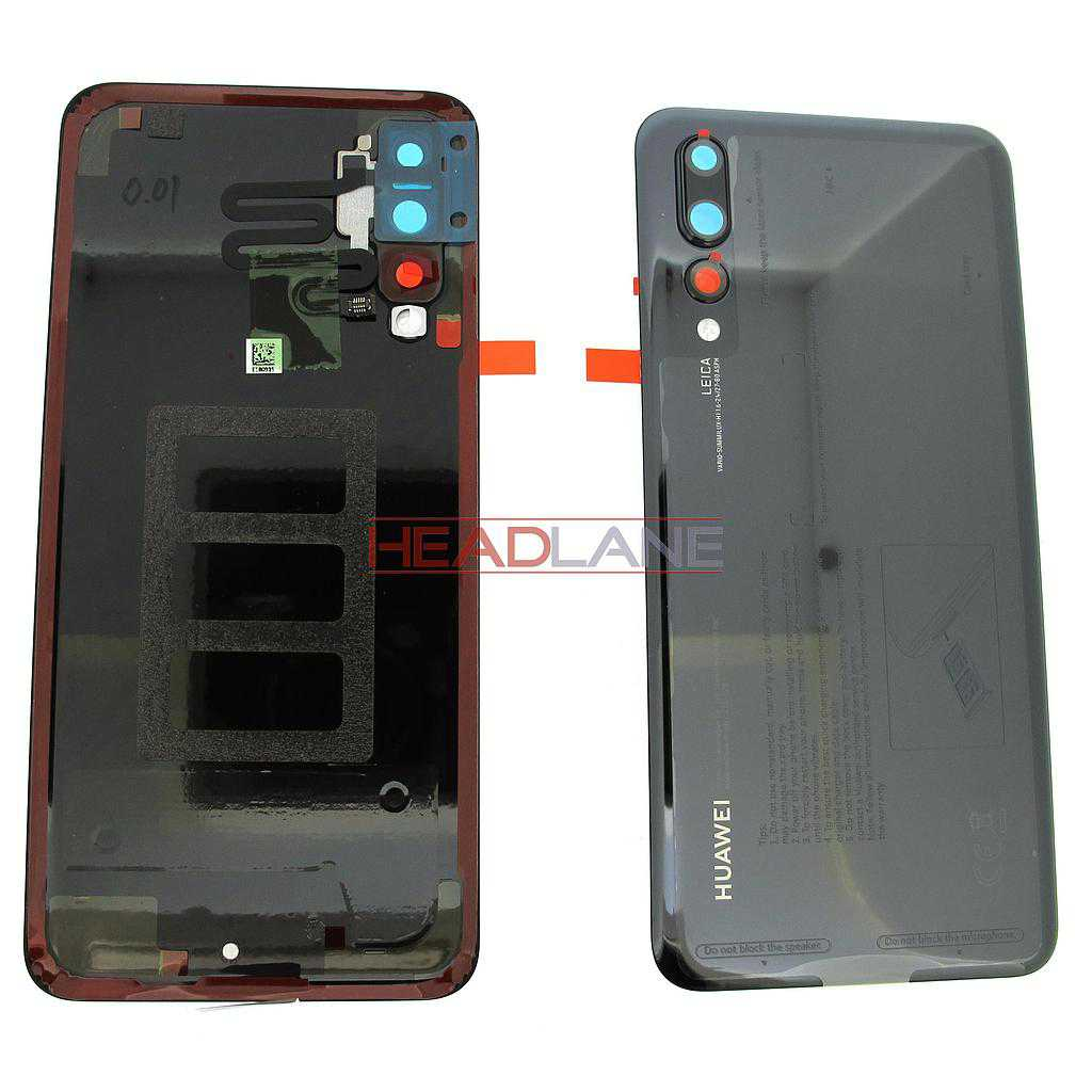 Huawei P20 Pro Back / Battery Cover - Black