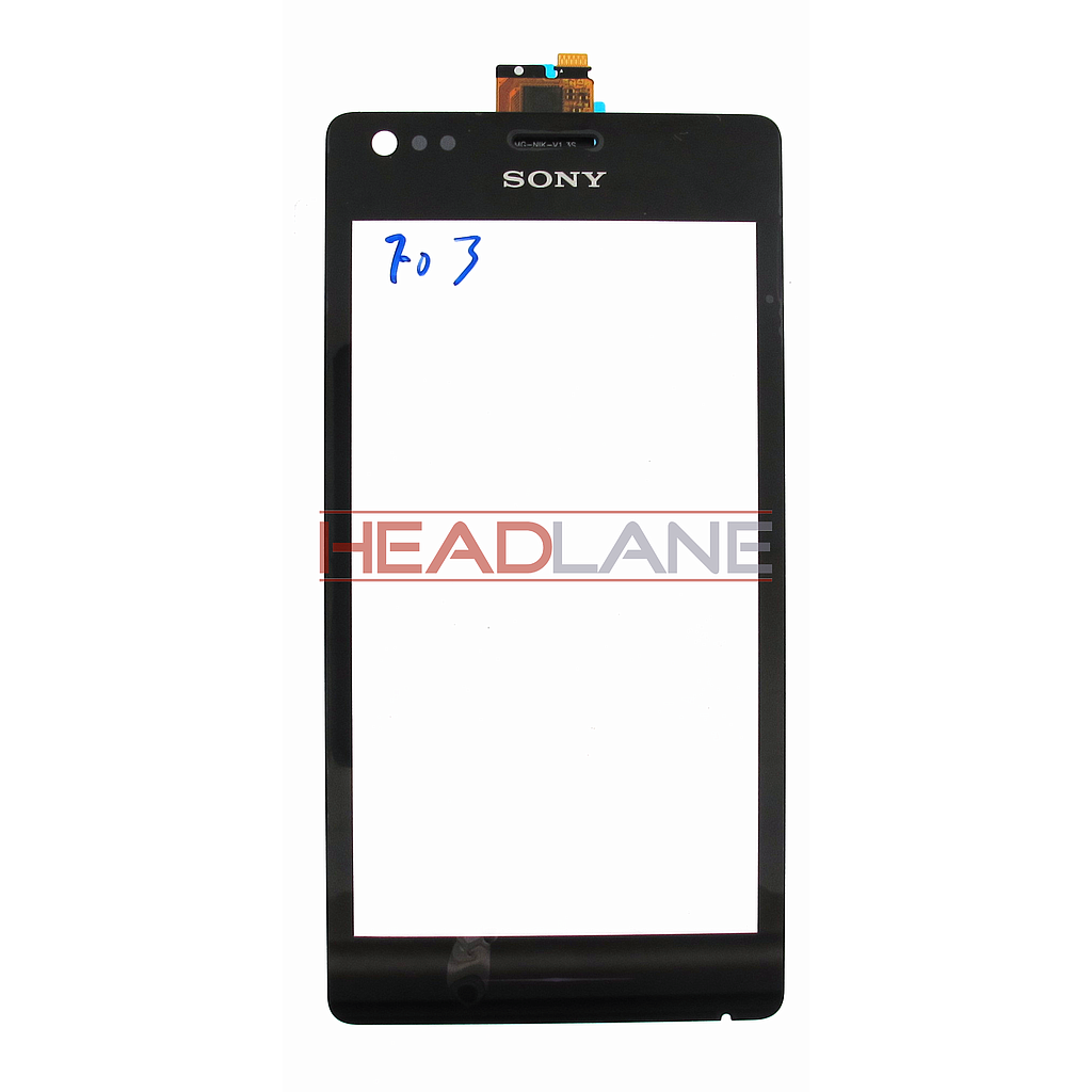 Sony C1904 / C1905 Xperia M Black Touch Panel / Digitizer