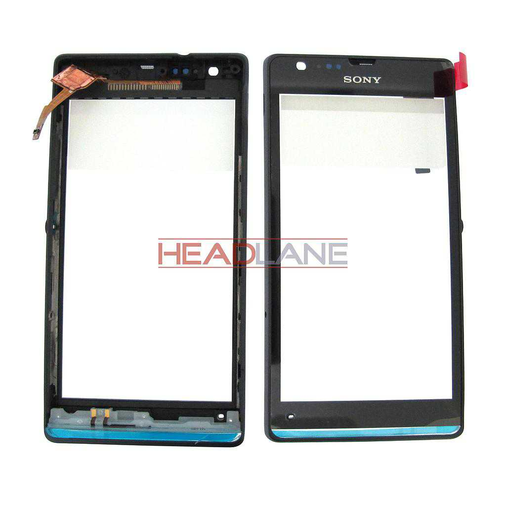 Sony C5302 C5303 D5306 M35H Xperia SP Front + Touch - Black