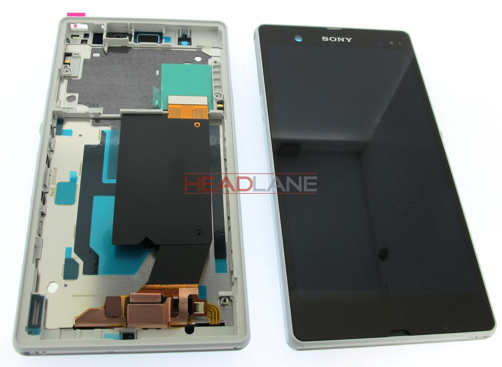 Sony C6602 C6603 Xperia Z LCD Display / Screen + Touch - White
