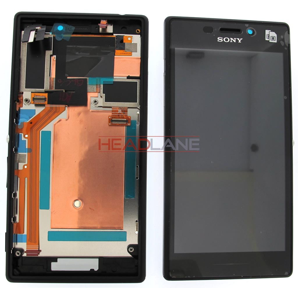 Sony D2302 Xperia M2 Dual LCD Display / Screen + Touch - Black