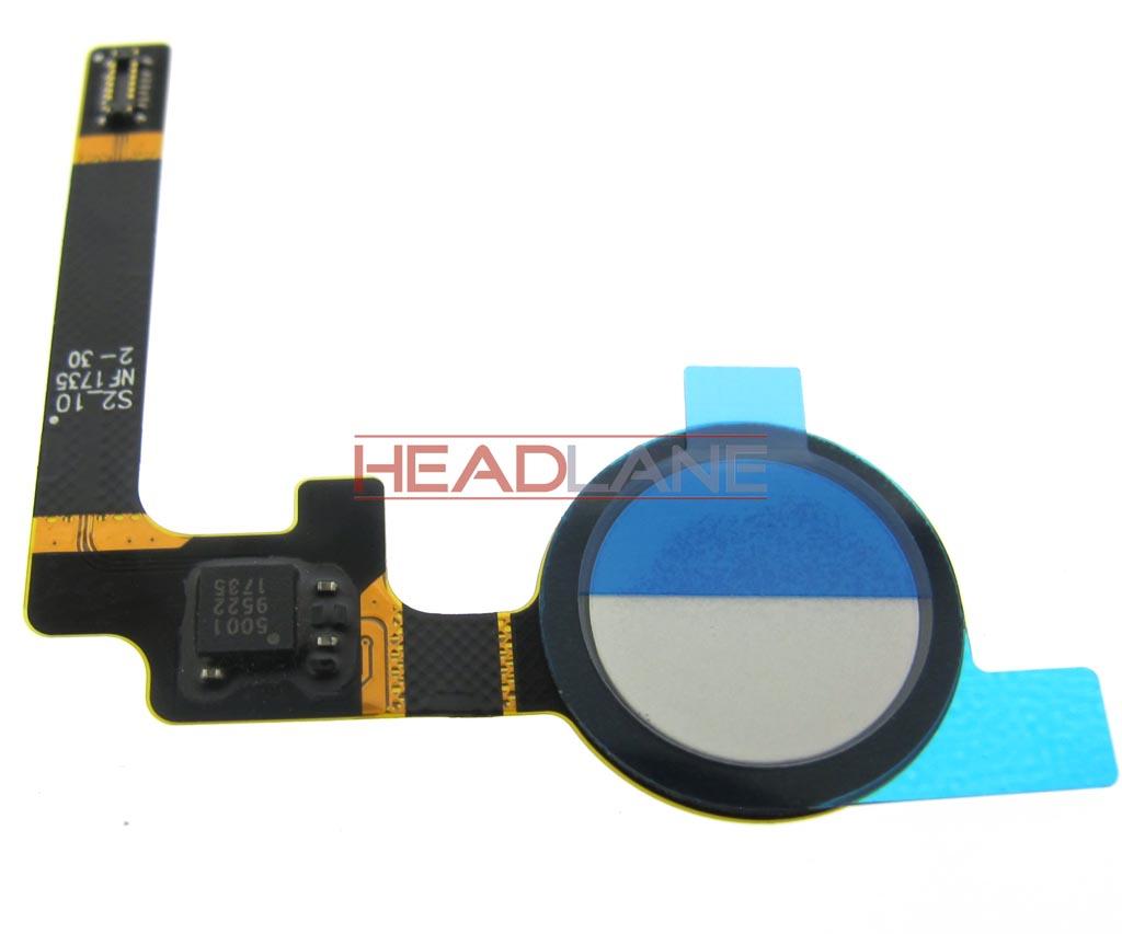 Google Pixel 2 G011A Fingerprint Reader / Sensor - White