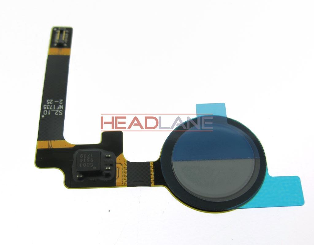 Google Pixel 2 G011A Fingerprint Reader / Sensor - Blue