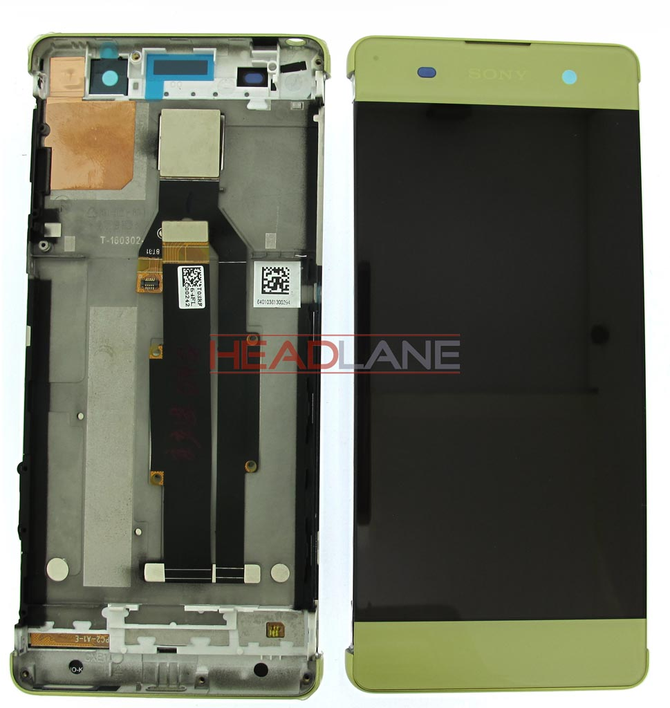 Sony F3111 Xperia XA/F3112 LCD Display / Screen + Touch - Lime Gold