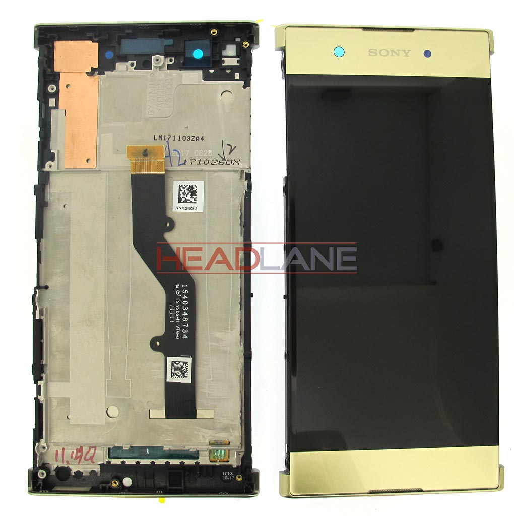 Sony G3412 Xperia XA1 Plus LCD Display / Screen + Touch - Gold