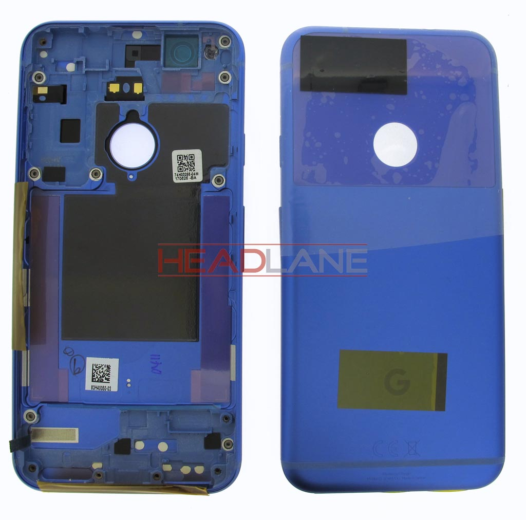 Google Pixel G-2PW4200 Battery / Back Cover - Blue