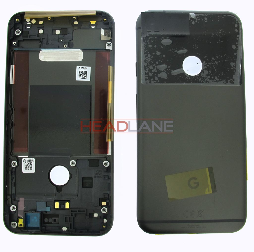 Google Pixel XL G-2PW2200 Battery / Back Cover - Black