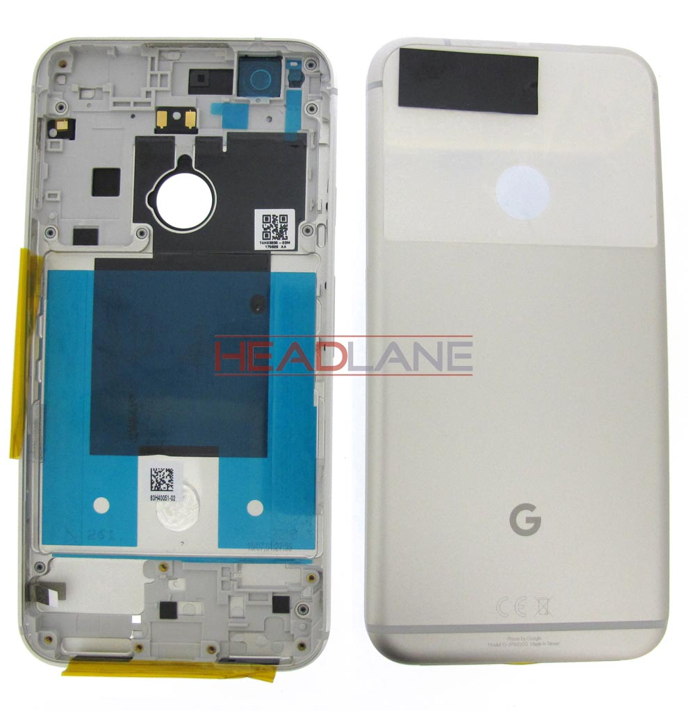 Google Pixel XL G-2PW2200 Battery / Back Cover - Silver