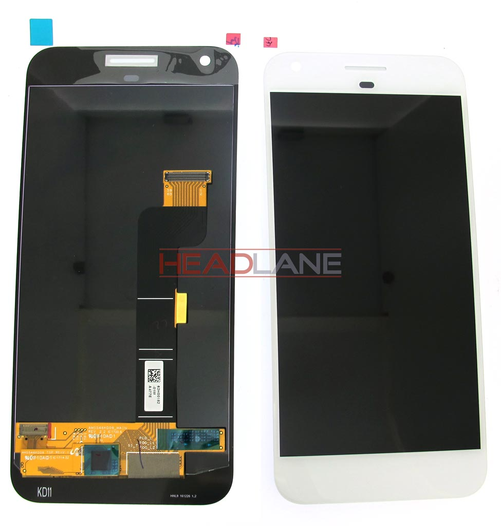 Google Pixel XL G-2PW2200 LCD Display / Screen + Touch - White