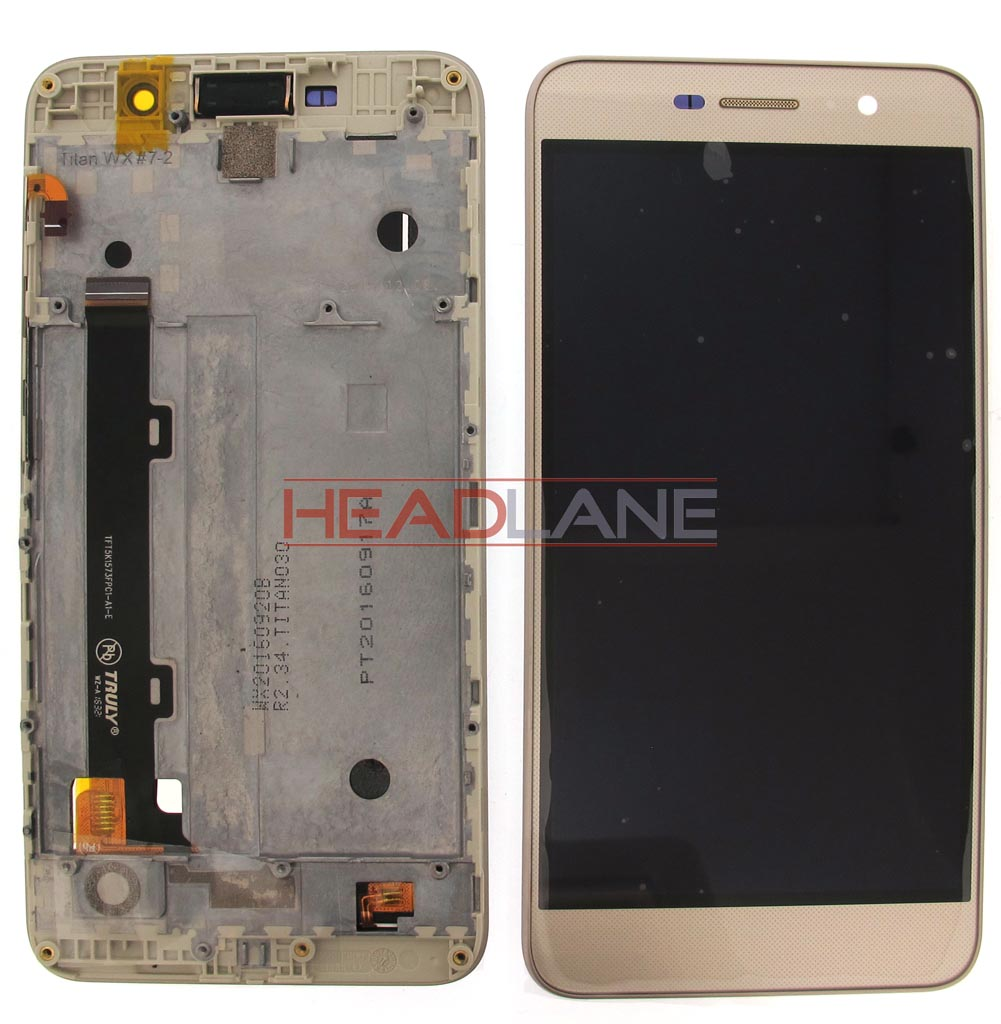 Huawei Honor 4C Pro LCD Display / Screen + Touch - Gold