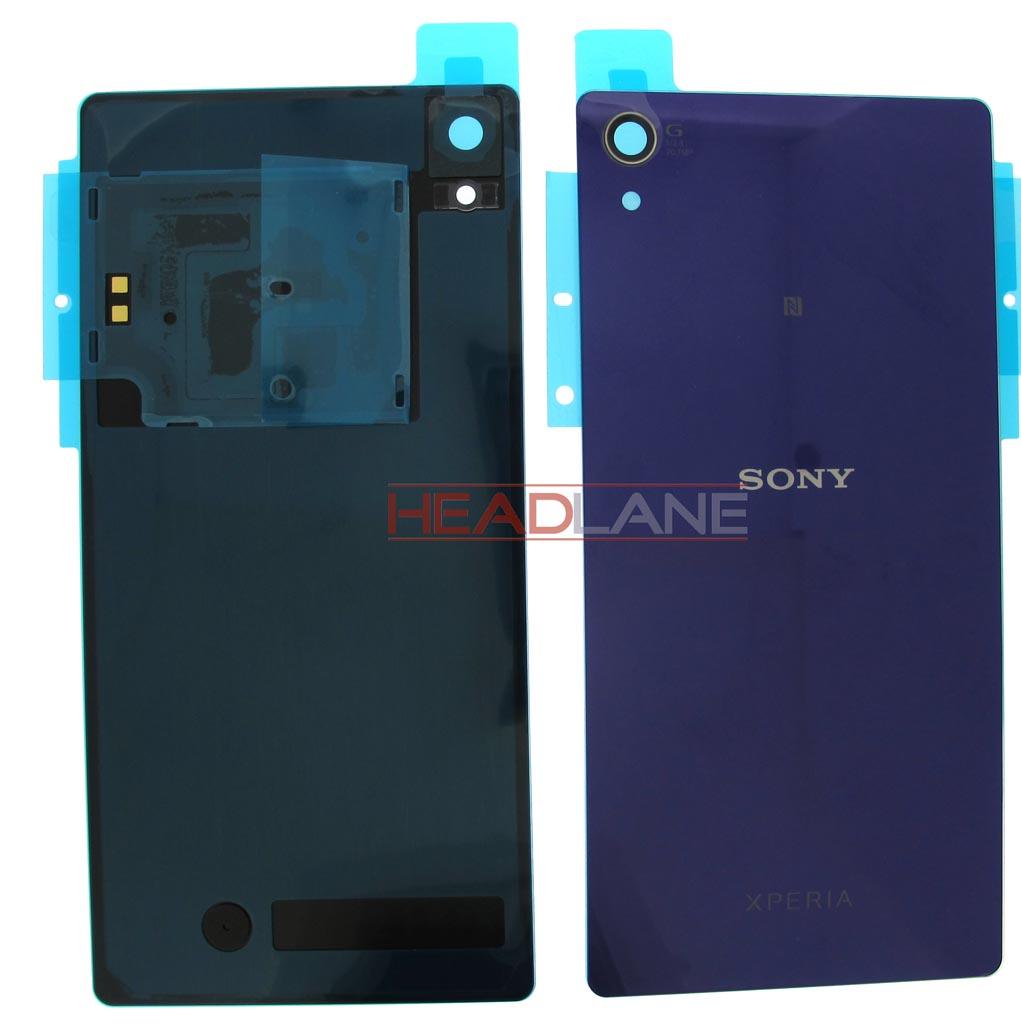 Sony D6502 D6503 Xperia Z2 Battery Cover - Purple