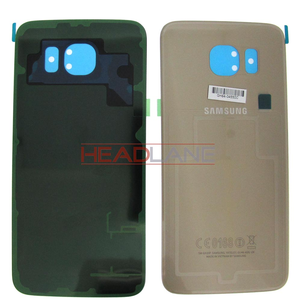 Samsung SM-G920 Galaxy S6 Battery Cover - Gold