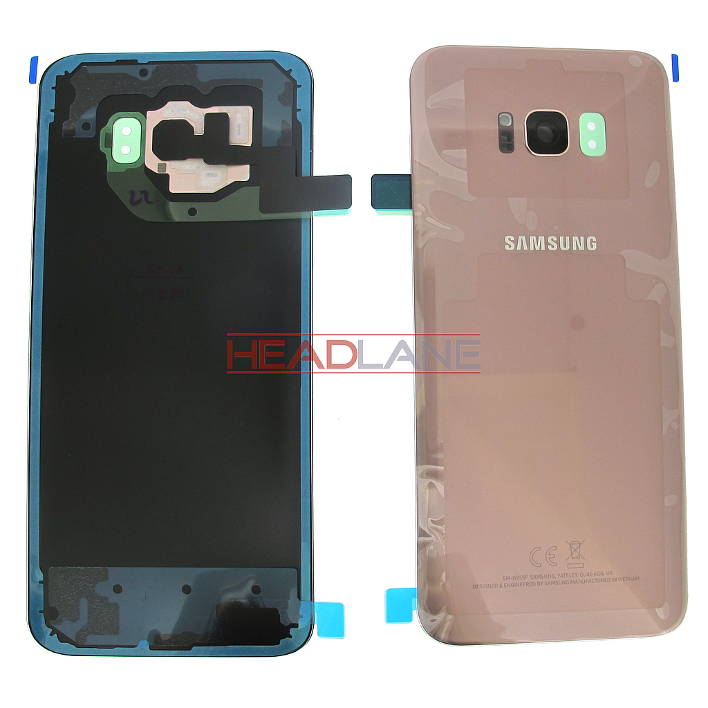 Samsung SM-G955 Galaxy S8+ Battery Cover - Pink