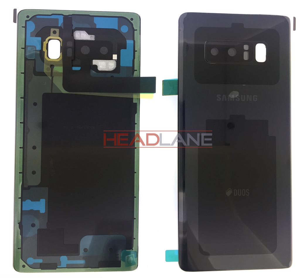 Samsung SM-N950 Galaxy Note 8 DUOS Battery Cover - Black
