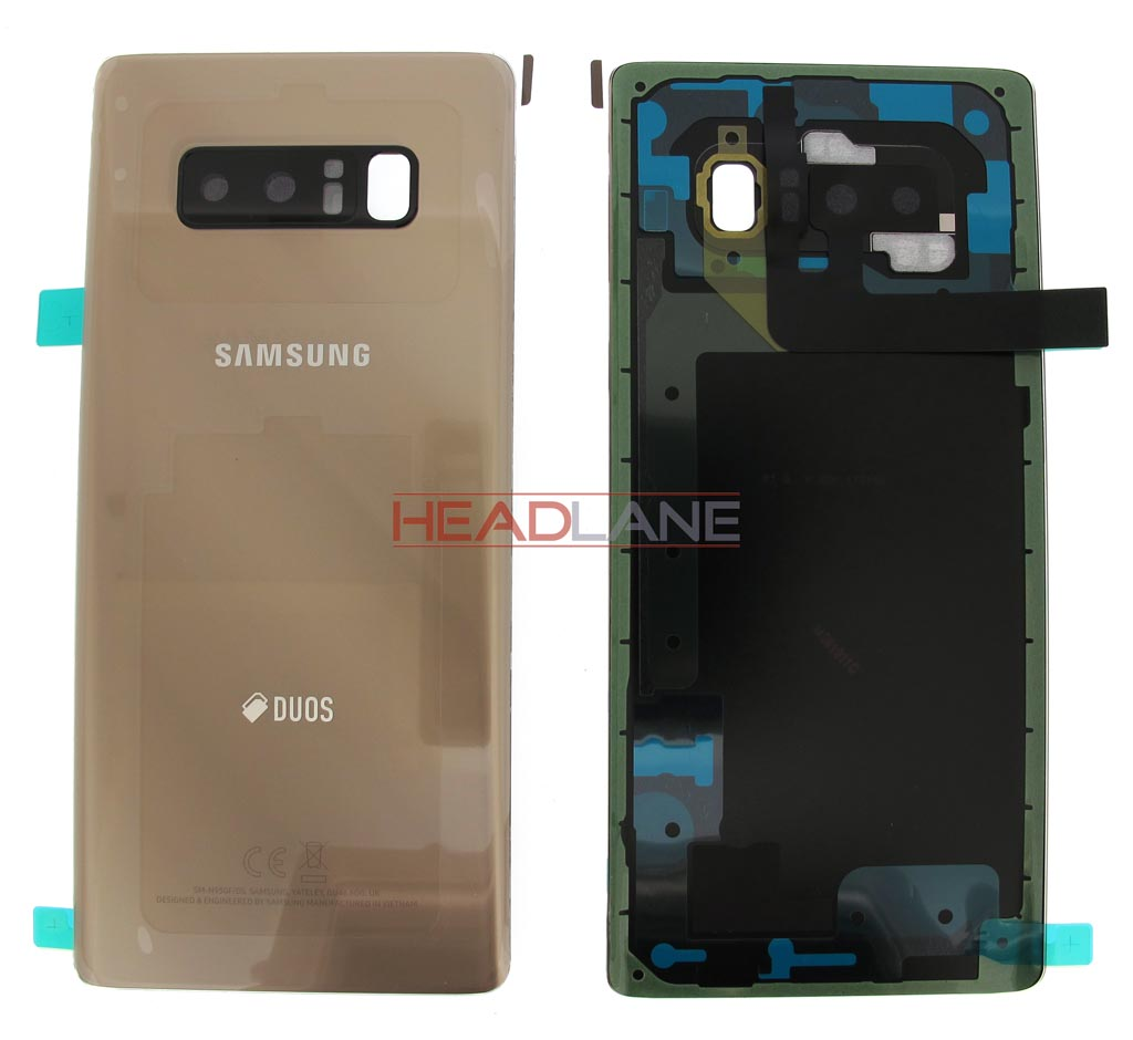 Samsung SM-N950 Galaxy Note 8 DUOS Battery Cover - Gold