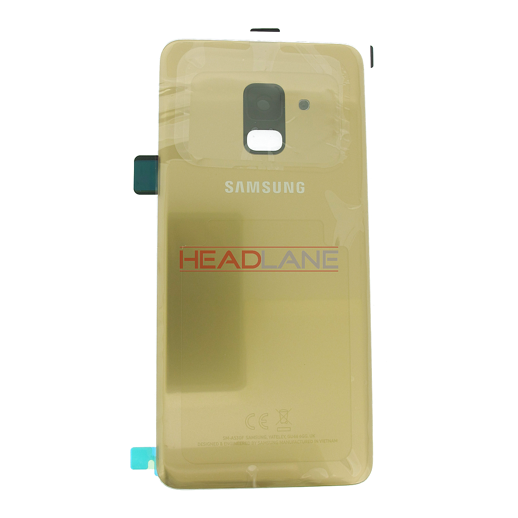Samsung SM-A530 Galaxy A8 (2018) Battery Cover - Gold