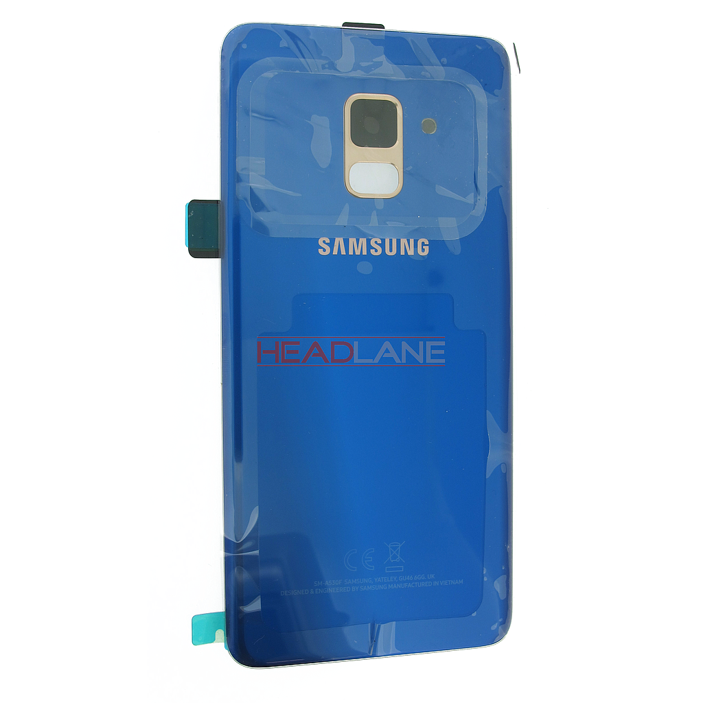 Samsung SM-A530 Galaxy A8 (2018) Battery Cover - Blue