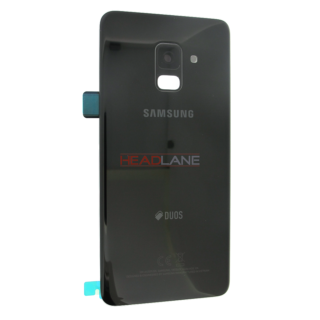 Samsung SM-A530 Galaxy A8 (2018) DUOS Battery Cover - Black