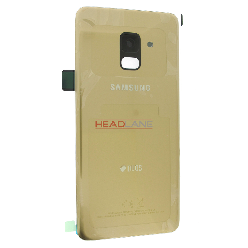Samsung SM-A530 Galaxy A8 (2018) DUOS Battery Cover - Gold