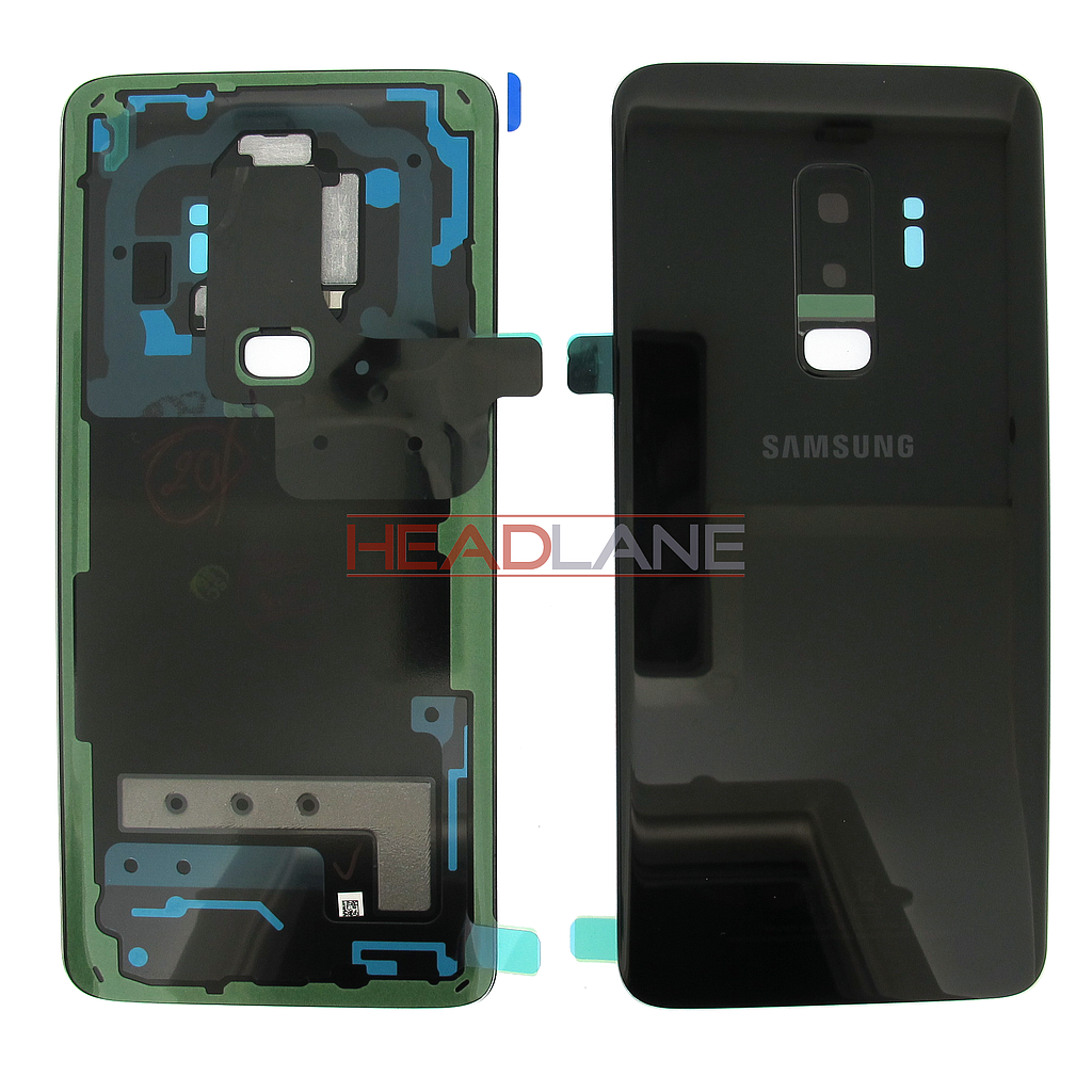 Samsung SM-G965F Galaxy S9+ Single SIM Battery Cover - Black