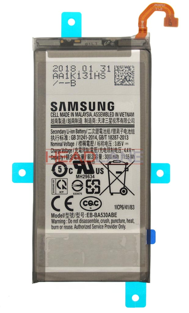 Samsung SM-A530 Galaxy A8 (2018) EB-BA530ABE Battery