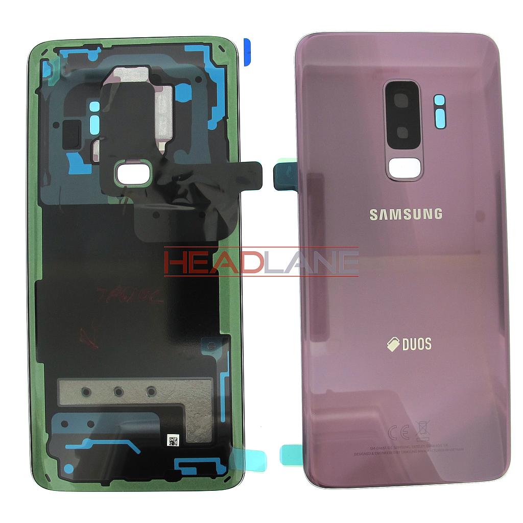 Samsung SM-G965F Galaxy S9+ Hybrid SIM Battery Cover- Purple