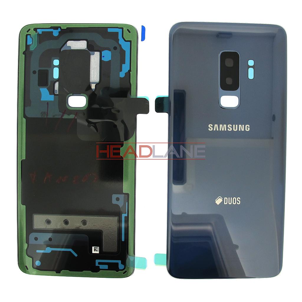 Samsung SM-G965F Galaxy S9+ Hybrid SIM Battery Cover - Blue