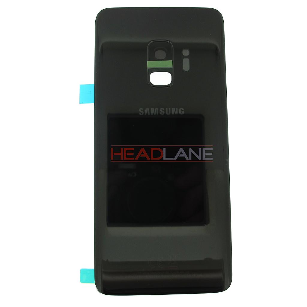 Samsung SM-G960F Galaxy S9 Single SIM Battery Cover - Black