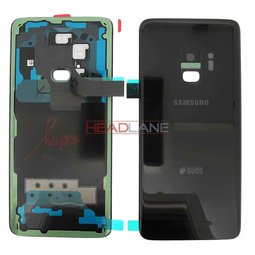 Samsung SM-G960F Galaxy S9 Hybrid SIM Battery Cover - Black
