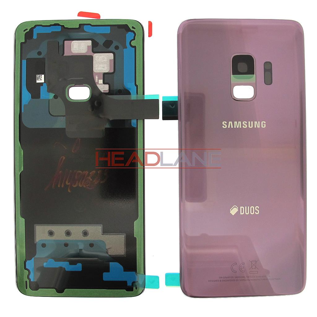 Samsung SM-G960F Galaxy S9 Hybrid SIM Battery Cover - Purple