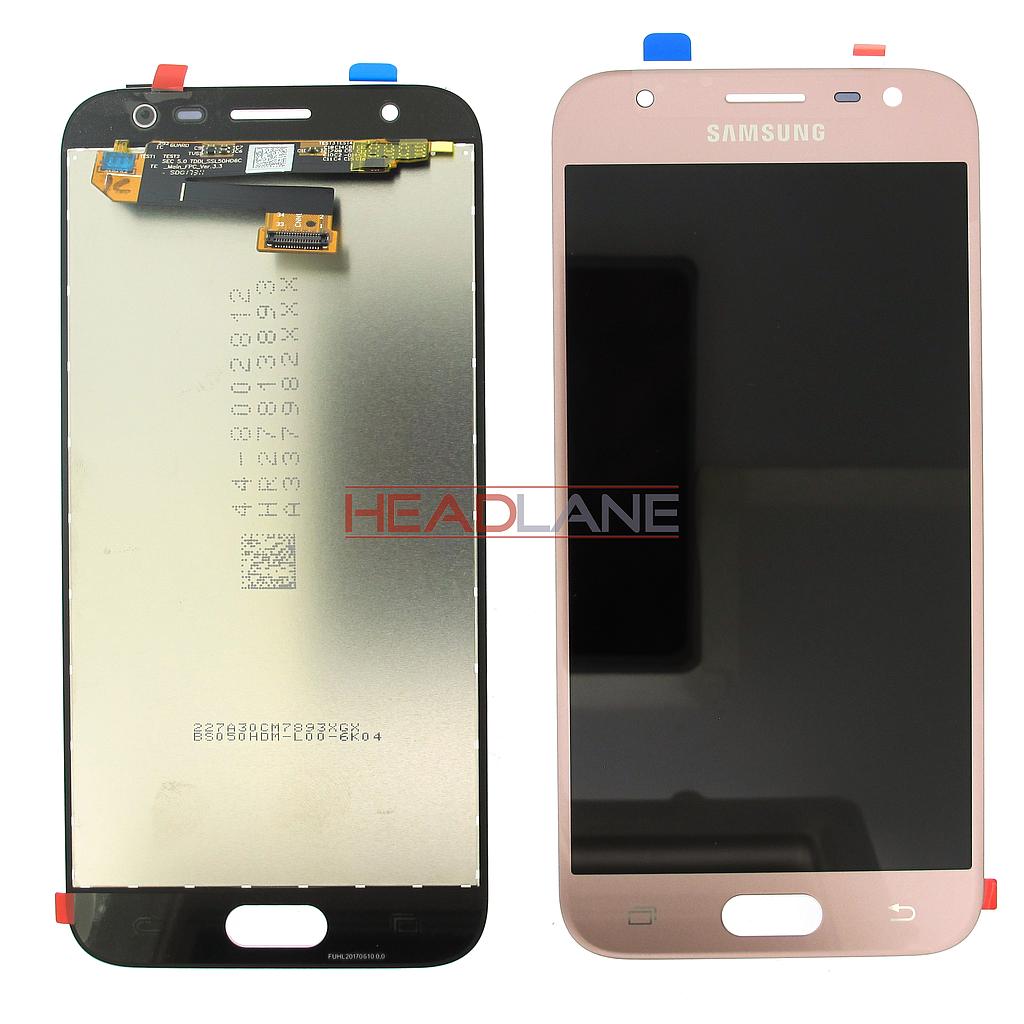 Samsung SM-J330 Galaxy J3 (2017) LCD Display / Screen + Touch - Pink