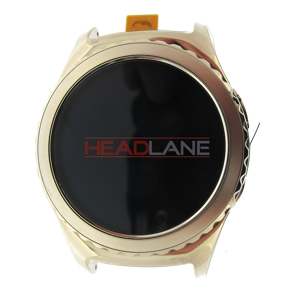 Samsung SM-R732 Galaxy Gear S2 LCD Display / Screen + Touch - White
