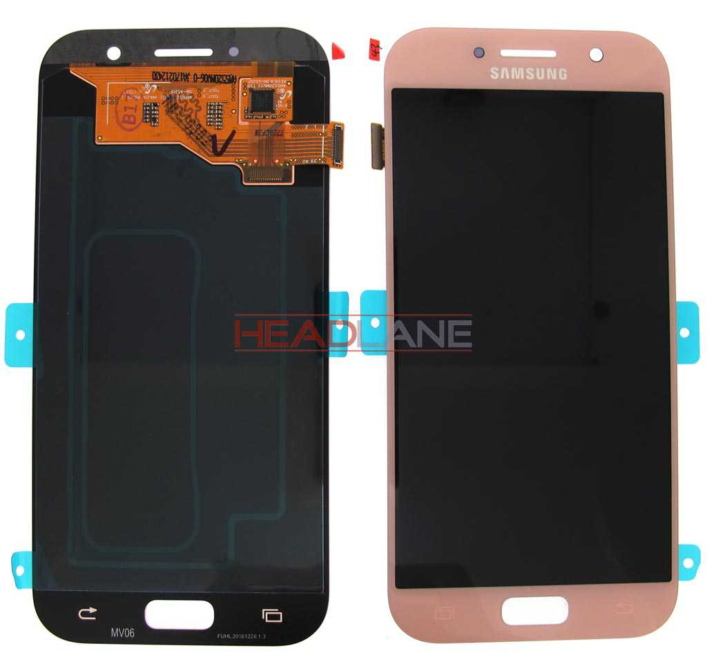 Samsung SM-A520 Galaxy A5 (2017) LCD Display / Screen + Touch - Pink