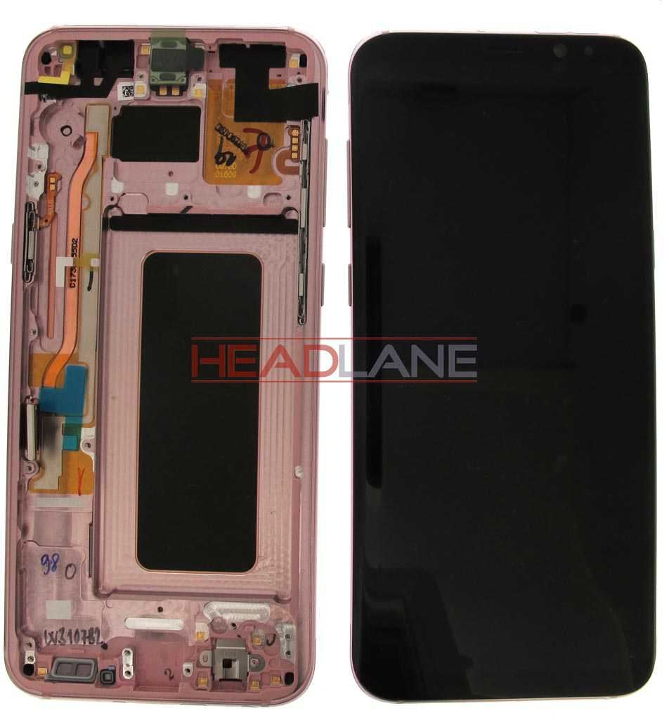 Samsung SM-G955 Galaxy S8+ LCD Display / Screen + Touch - Pink